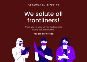 Salute to Frontliners Ottawa